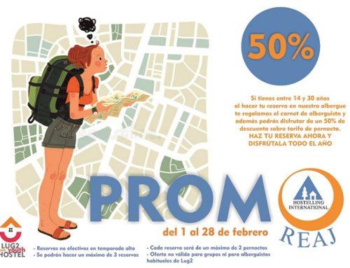 HostelPACK Promo REAJ 50%